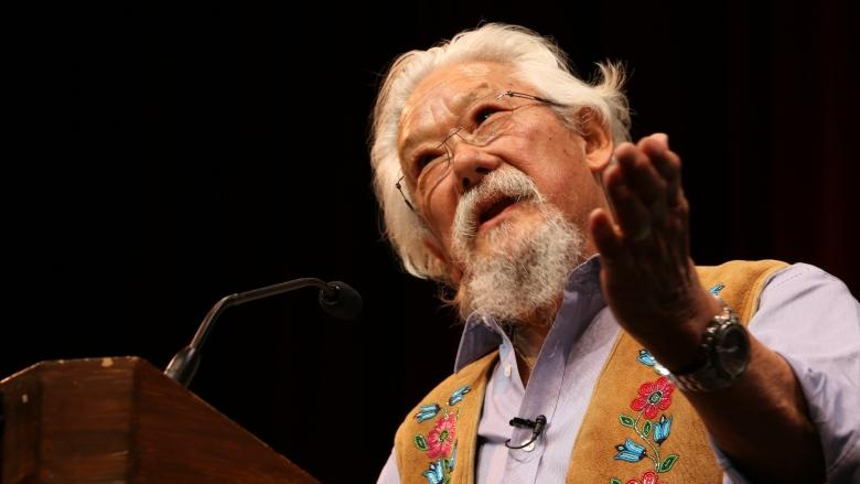 David Suzuki says NDP-Green alliance a 'wonderful opportunity'