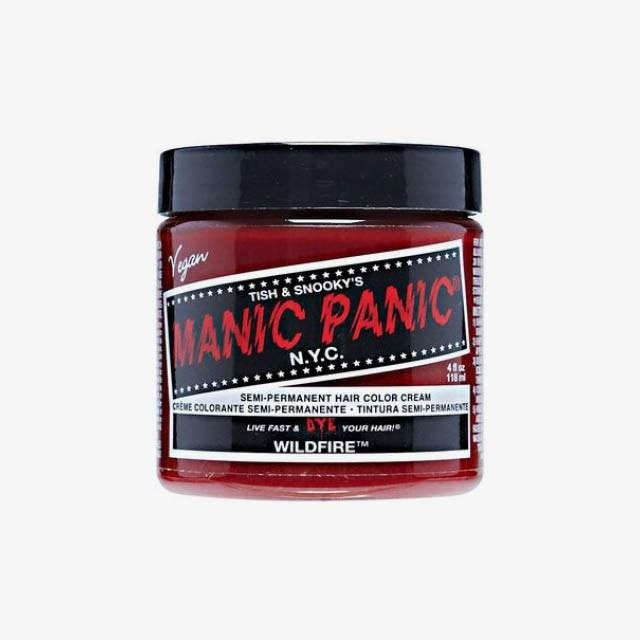 Manic Panic Semi Permanent Hair Color Cream in Wildfire, $8 Buy it now