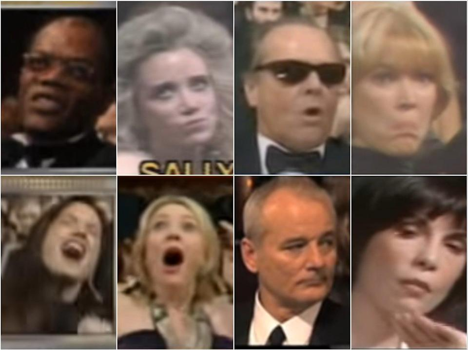 Samuel L Jackson, Sally Kirkland, Jack Nicholson, Ellen Burstyn, Holly Hunter, Cate Blanchett, Bill Murray and Talia Shire (Oscars)
