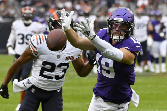 Minnesota Vikings wide receiver Adam Thielen backtracked on comments critical of Kirk Cousins on Monday. (AP)