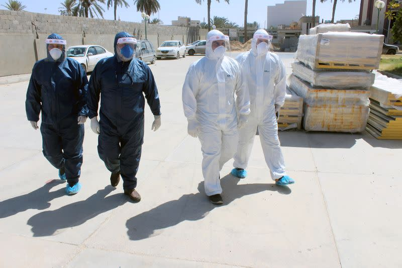 Libyan medics already faced war, now the pandemic is surging there too