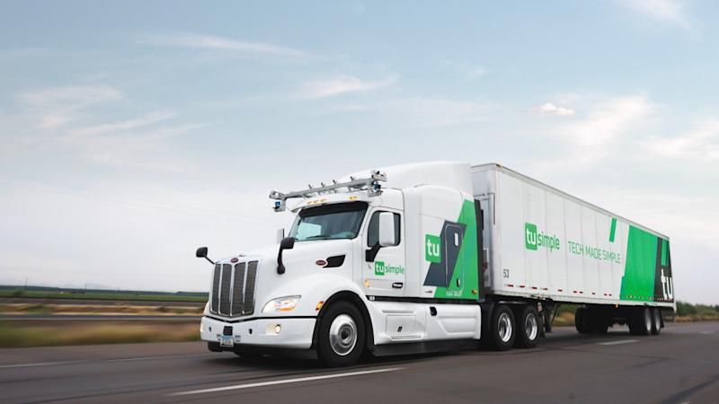 UPS takes a stake in Chinese self-driving truck start-up TuSimple as driverless deliveries zoom into view