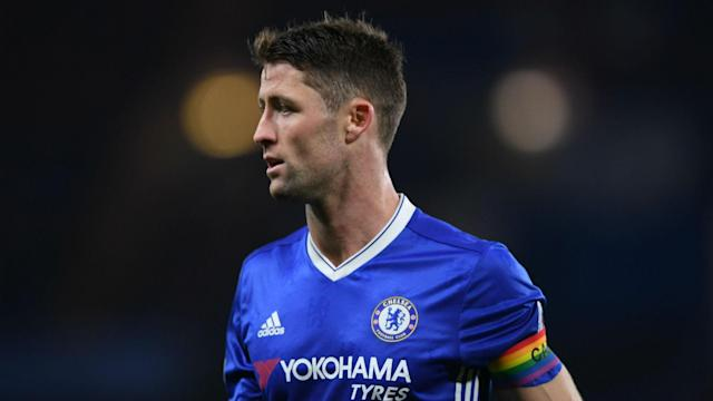 Chelsea defender Gary Cahill is not getting carried away, even if they need just one more win to clinch the title.