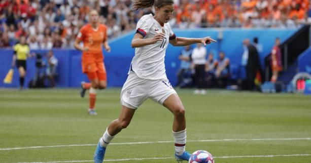 Foot - Transferts (F) - Transferts  : l'Américaine Tobin Heath s'engage avec Manchester United