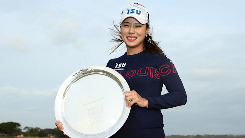 Park rallies to win Vic Open women's event in playoff