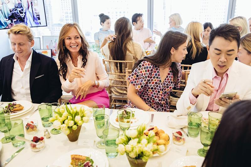 Bryan Jandrell, Clo Cohen, Vogue's Laura Paterson and Gilbert Cheah