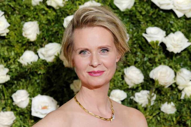 Sex and the City Star Cynthia Nixon May Run for New York Governor