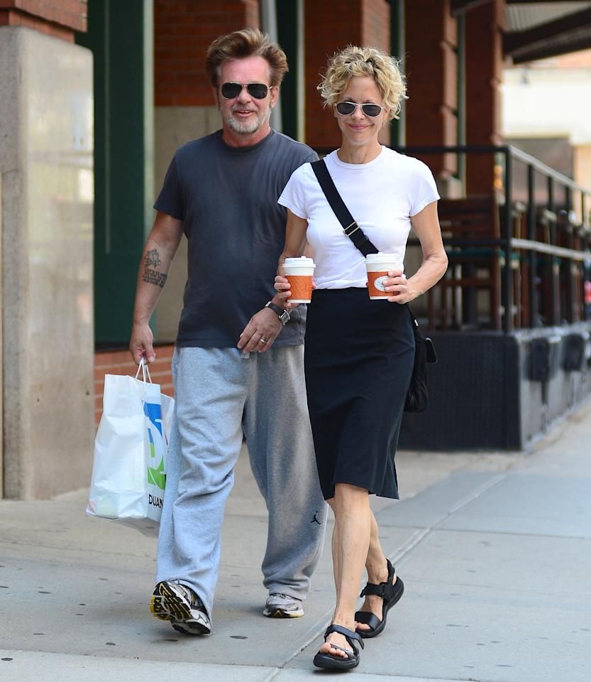 John Mellencamp and Meg Ryan have dated on and off three times over the past 10 years. Now, almost exactly a year after Ryan announced that they were engagement, the couple has reportedly once again called it quits.