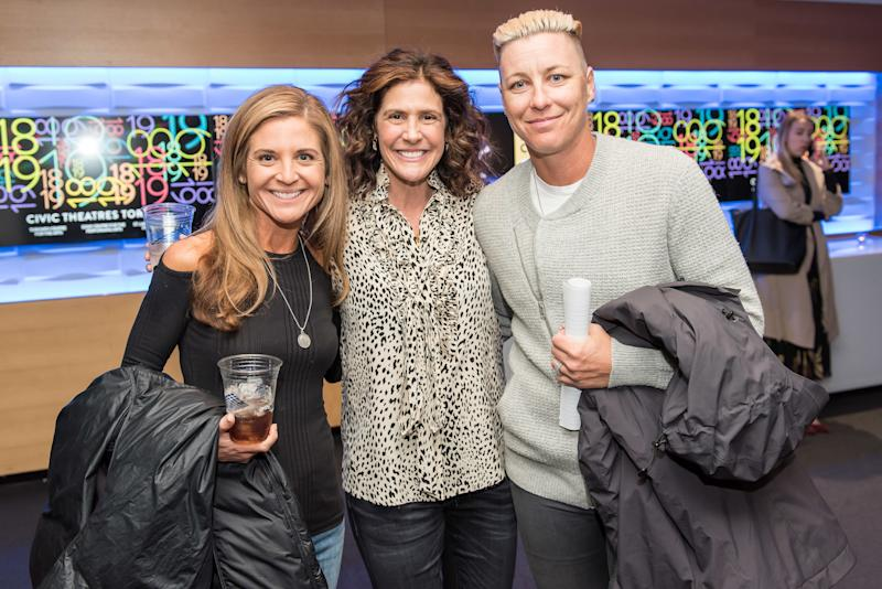 Glennon Doyle, Walsh, and Abby Wambach at Together Live 2018