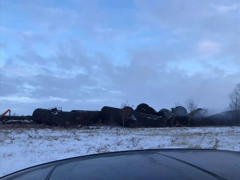 Derailed Canadian Pacific train was carrying ConocoPhillips oil: media