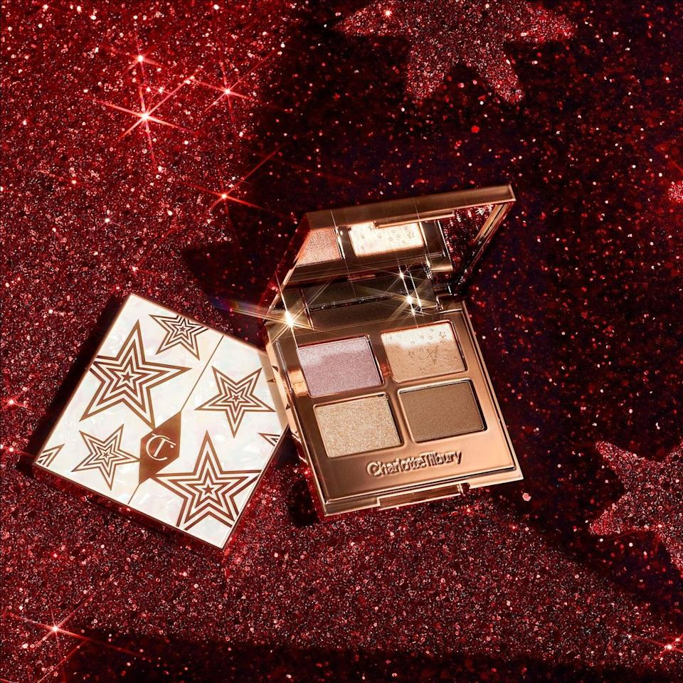 <p>The <span>Charlotte Tilbury Luxury Eyeshadow Palette of Pearls</span> ($54) will make your eye looks pop and glimmer, perfect for the holiday season. The four shimmery shades have light reflecting pearls and duochrome pigments that will give you that multi-dimensional look. </p>