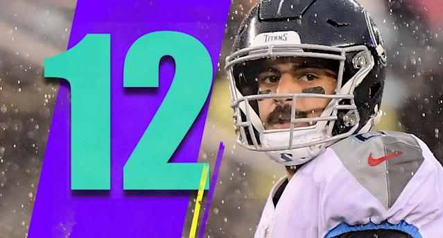 <p>The most interesting race left, aside from the AFC West, might be for the final wild-card spot in the AFC. The Titans, Colts and Ravens are tied at 8-6. The Titans and Colts play Week 17, and the Ravens aren't out of the AFC North race either. (Marcus Mariota) </p>