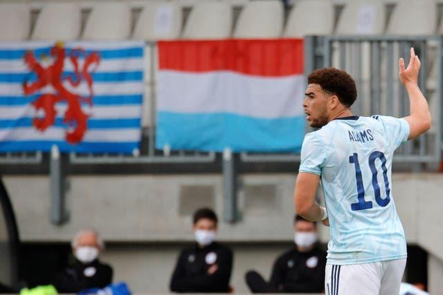 Che Adams scored the only goal against Luxembourg