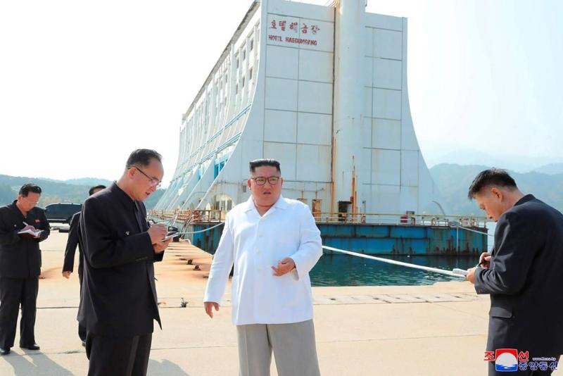 North Korea says it issued ultimatum to South over resort