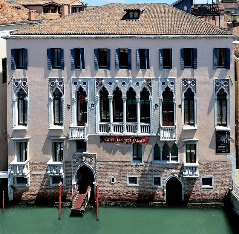The Liassidi Palace combines Venetian grandeur with off-the-beaten-track intimacy (SLH)