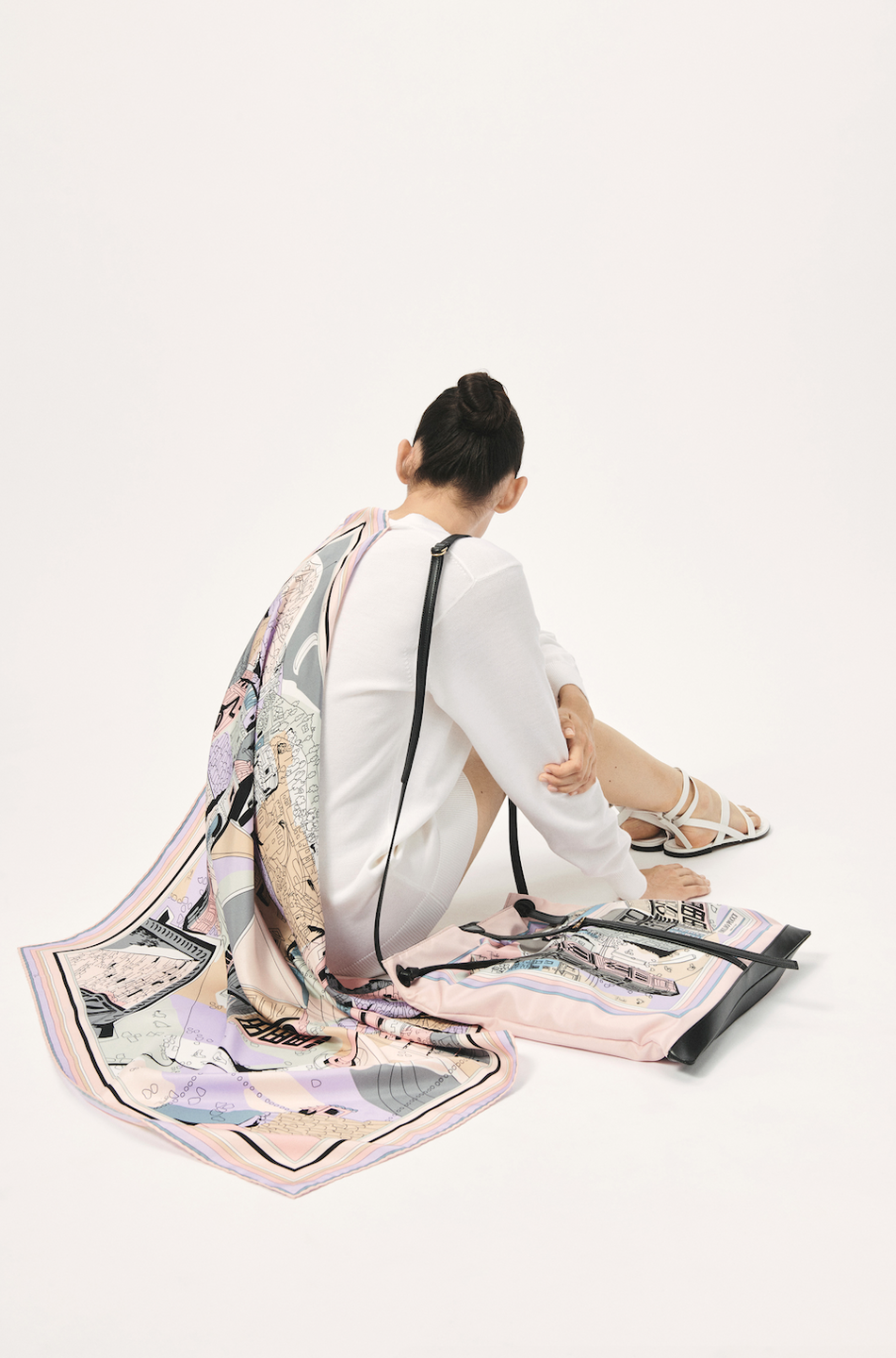 """<p>Emilio Pucci's resort 2021 collection was inspired by the 1950s and celebrates the iconic pieces of the fashion house such as the """"pyjama palazzo, kaftan, and scarves shirt."""" Look out for Pucci's archival scarf prints. Four of them—Battistero, Dinamica, Scorci Fiorentini, and Vetrate—""""constitute an ode to the city of Florence in all its magnificence."""" </p>"""