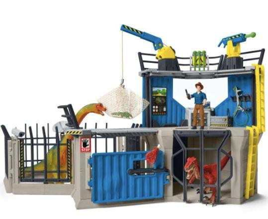 Large Dino Research Station (Photo: Schleich/Amazon)