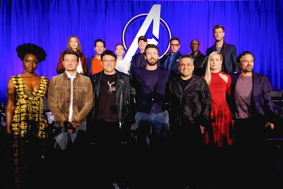 What went down at Avengers: Endgame press conference