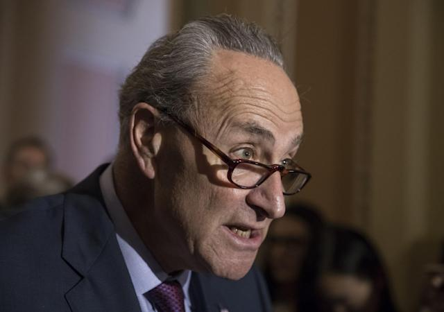 Senate Minority Leader Chuck Schumer, D-N.Y. (Photo: J. Scott Applewhite/AP)