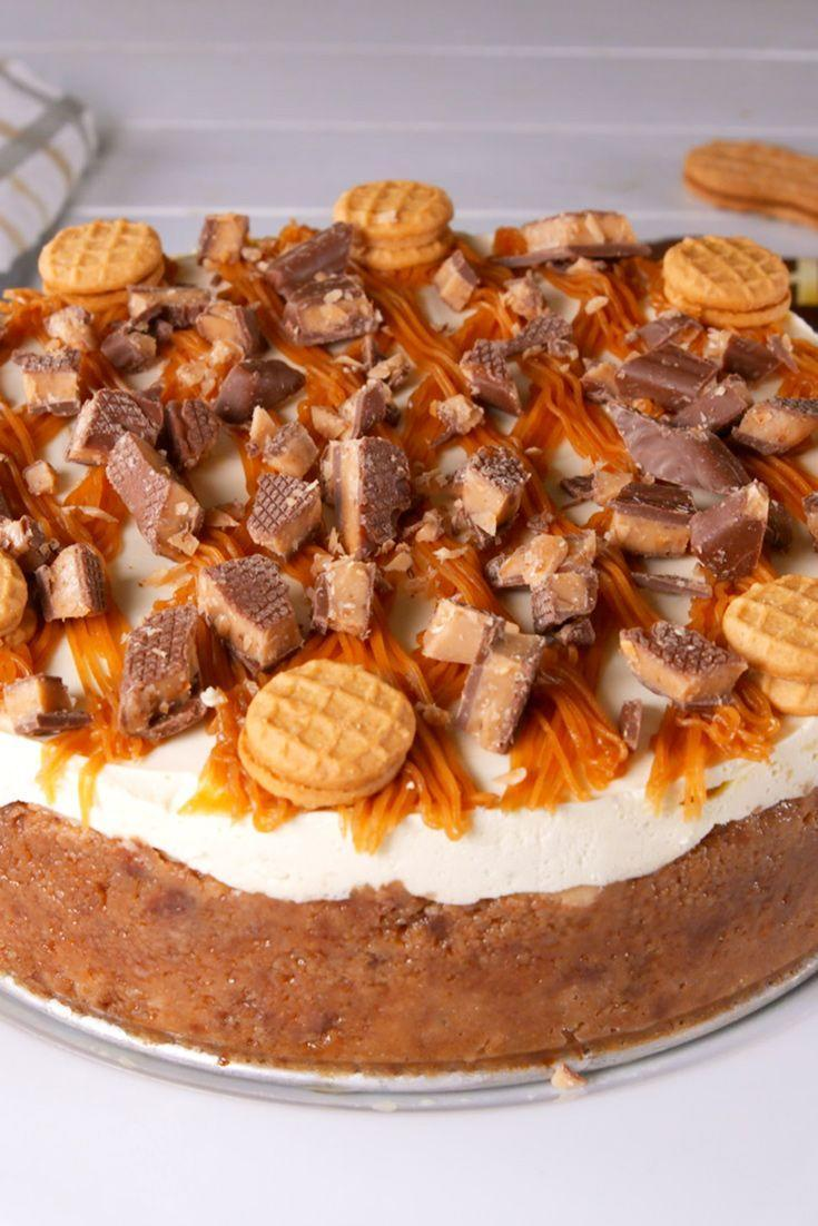 """<p>Your fave candy just got caked.</p><p>Get the recipe from <a href=""""https://www.delish.com/cooking/recipe-ideas/a29667085/nutter-butter-cheesecake-recipe/"""" rel=""""nofollow noopener"""" target=""""_blank"""" data-ylk=""""slk:Delish"""" class=""""link rapid-noclick-resp"""">Delish</a>.</p>"""