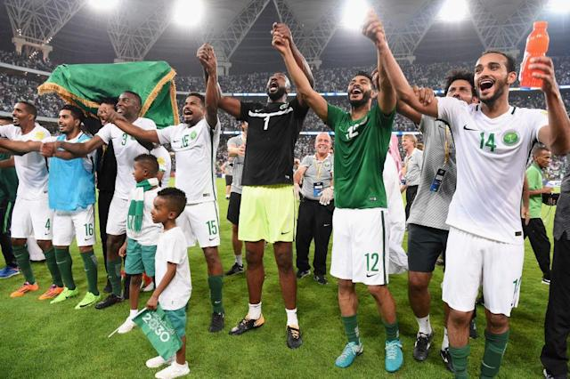 Saudi Arabia were drawn in a group with Egypt, Russia and Uruguay in Group A of the 2018 FIFA World Cup. They will play the opener against Russia.