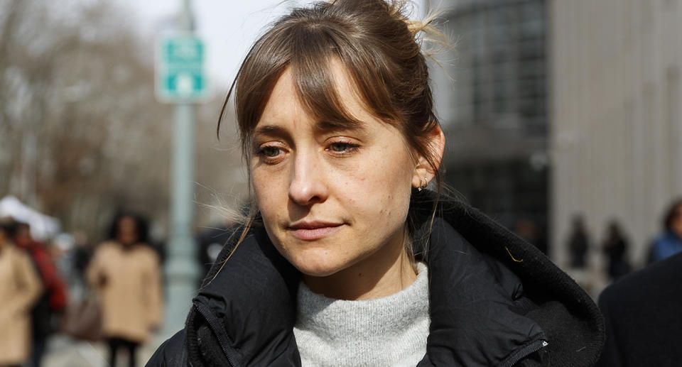 Allison Mack sentenced to three years in jail over shocking sex cult charges. Source: AP