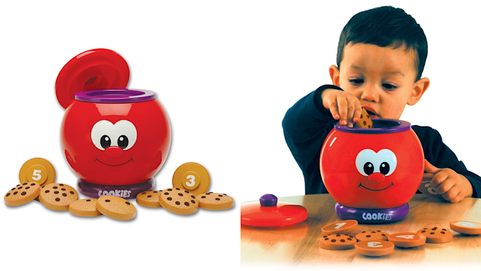 Gifts for kids: Count and Learn Cookie Jar