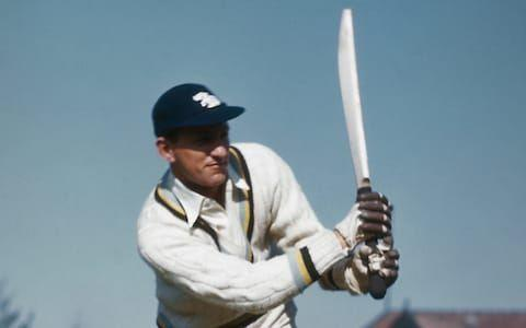 Sir Leonard Hutton is the only player in test matches to be dismissed for 'obstructing the field'.