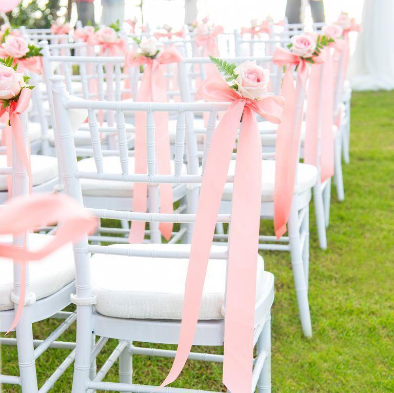 """<p>No ifs, ands or buts here. """"Never sit in the front row unless you've been invited to,"""" says Jennifer Porter, party planner and owner of <a href=""""https://satsumadesigns.com/"""" rel=""""nofollow noopener"""" target=""""_blank"""" data-ylk=""""slk:Satsuma Designs"""" class=""""link rapid-noclick-resp"""">Satsuma Designs</a>. """"Even if it's a casual gathering, <a href=""""https://www.goodhousekeeping.com/life/g19504286/wedding-etiquette-rules/"""" rel=""""nofollow noopener"""" target=""""_blank"""" data-ylk=""""slk:abide by tradition"""" class=""""link rapid-noclick-resp"""">abide by tradition</a> and save the front row for family or the wedding party."""" But of course, there's always an exception to the rule: """"If an usher places you in the front, relish your seat and enjoy!""""</p>"""
