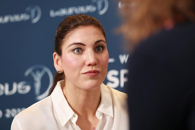 Hope Solo is back to blast U.S. Soccer once again. (Getty)
