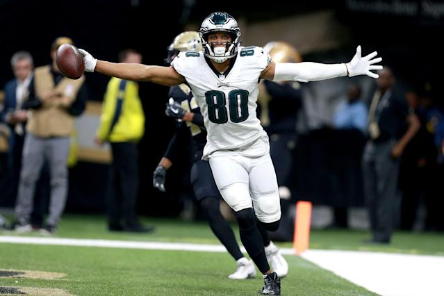 After placing DeSean Jackson on IR, the Eagles are turning once again to Jordan Matthews. (Sean Gardner/Getty Images)