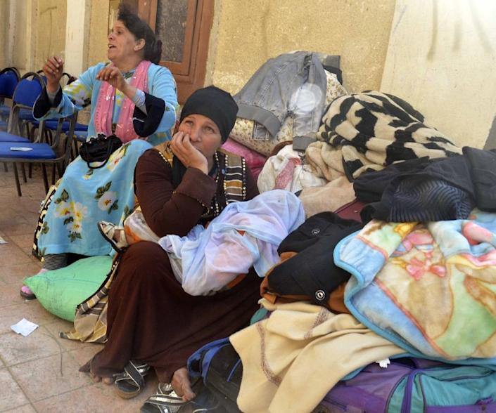Nearly 10 percent of Egypt's 92-million strong population belong to the Coptic community in a country where Sunni Muslims make up the vast majority (AFP Photo/STRINGER)