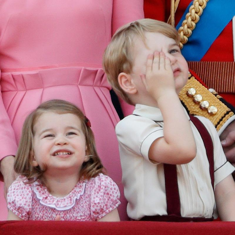 "In ""That's What We Like to Hear"" News, Princess Charlotte Is the Boss of Big Brother George"