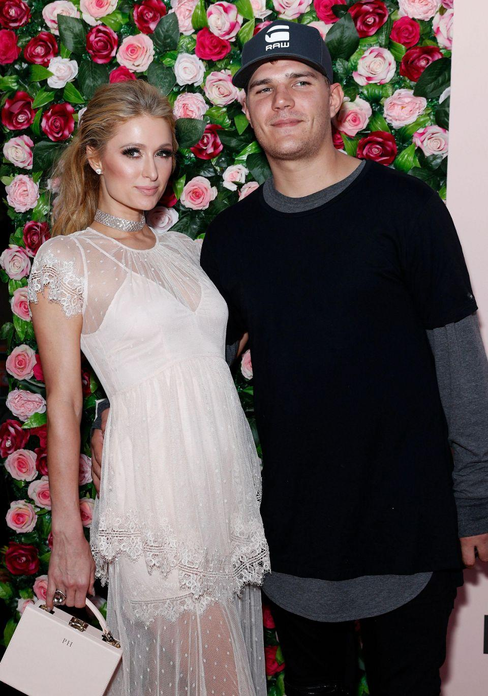 She also had her boyfriend Chris Zylka on hand to support her as she launched her new perfume. Source: Getty