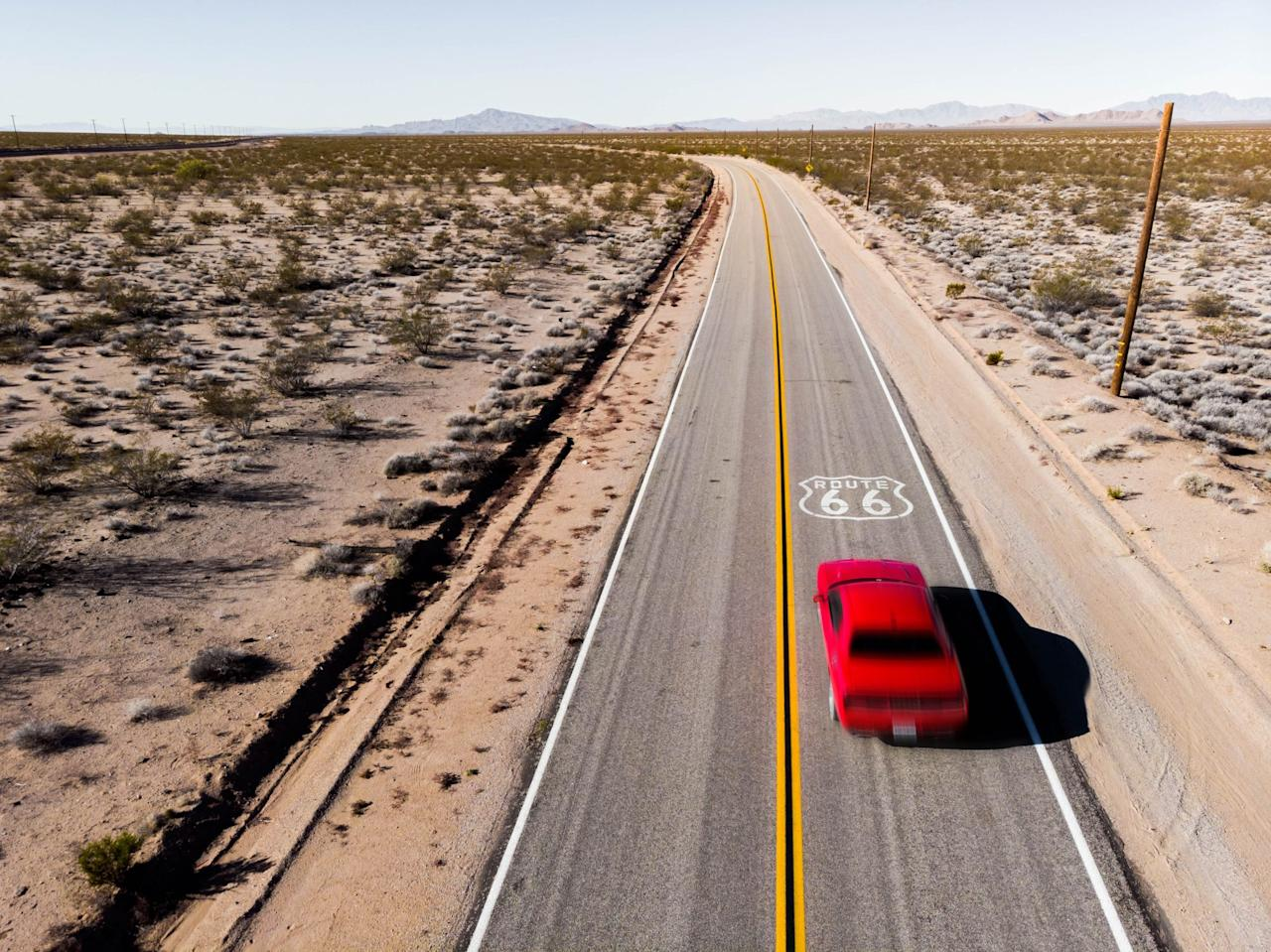 """<p>Even if you don't know where to find Route 66 (yet), you have heard of Route 66. The highway connected Chicago, Illinois, to Santa Monica, California, and <a href=""""https://ncptt.nps.gov/rt66/history-and-significance-of-us-route-66/"""">revolutionized the way people traveled across America</a>. It was the first all-weather highway that reduced the cross-country trip from Chicago to L.A. by a whopping 200 miles! People who could afford a car would want to make this trip because it signified freedom and thus, the realization of the American dream. You probably won't be able to travel the entire highway as it was during its heyday from 1926 to 1985, but enough of it still exists that you can get a taste of what makes it so special.</p>"""