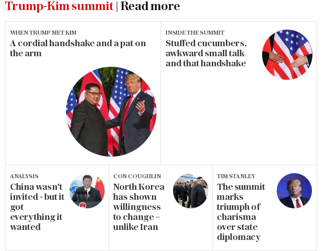 Trump-Kim summit | Read more