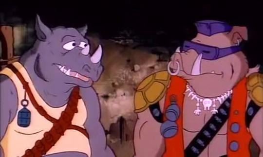 Bebop And Rocksteady Revealed On Teenage Mutant Ninja Turtles 2 Set