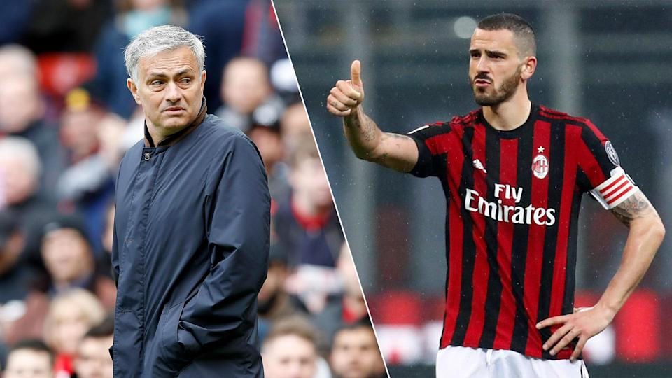 Jose Mourinho is considering a swoop for Leonardo Bonucci.