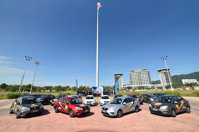 All the 2019 Saga models that were a part of the media drive were decorated with liveries of the different Malaysian states, in conjunction with Merdeka Day. — Picture courtesy of Proton
