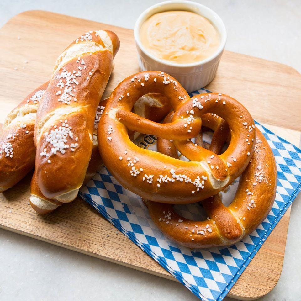"""<p>Aldi customers look forward to any time their favorite grocery store celebrates its German roots by stocking shelves with specialty items from its brand Deutsche Küche. Usually falling around the festivities of Oktoberfest and Easter, these Bavarian-izing of Aldi's shelves often include <a href=""""https://www.aisleofshame.com/next-aldi-german-week/"""" rel=""""nofollow noopener"""" target=""""_blank"""" data-ylk=""""slk:culinary delights"""" class=""""link rapid-noclick-resp"""">culinary delights</a> like soft pretzels, schnitzel, apple strudel, and spaetzle.<br></p>"""