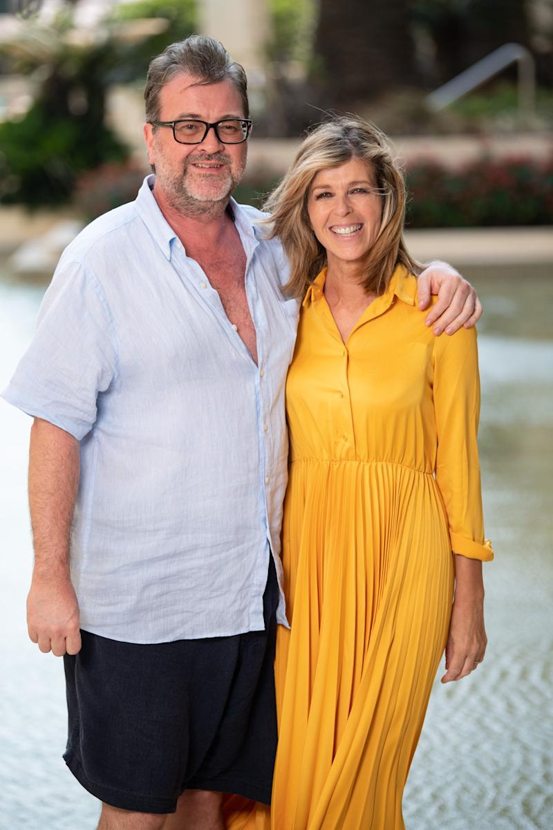 Derek and Kate in Australia last year, shortly after she left the I'm A Celebrity jungle (Photo: James Gourley/ITV/Shutterstock)