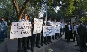Ground zero: No sympathy to spare, either for lawyers or for policemen