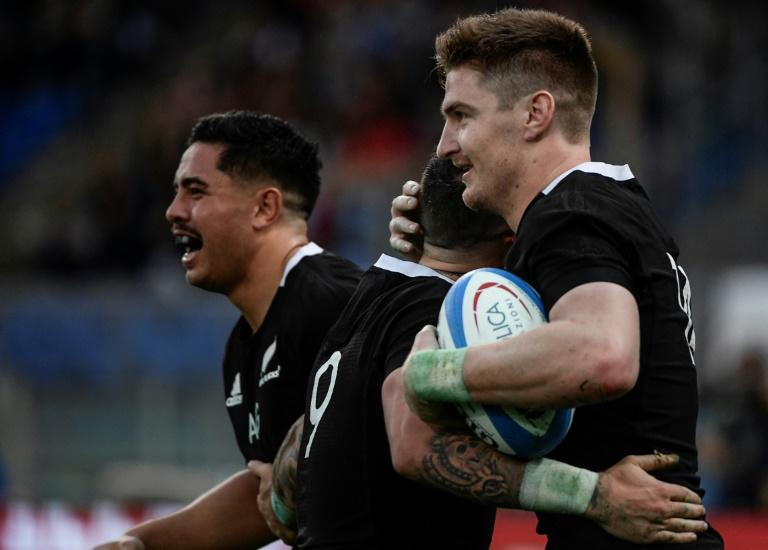 All Blacks respond to Ireland loss by thumping Italy 66-3