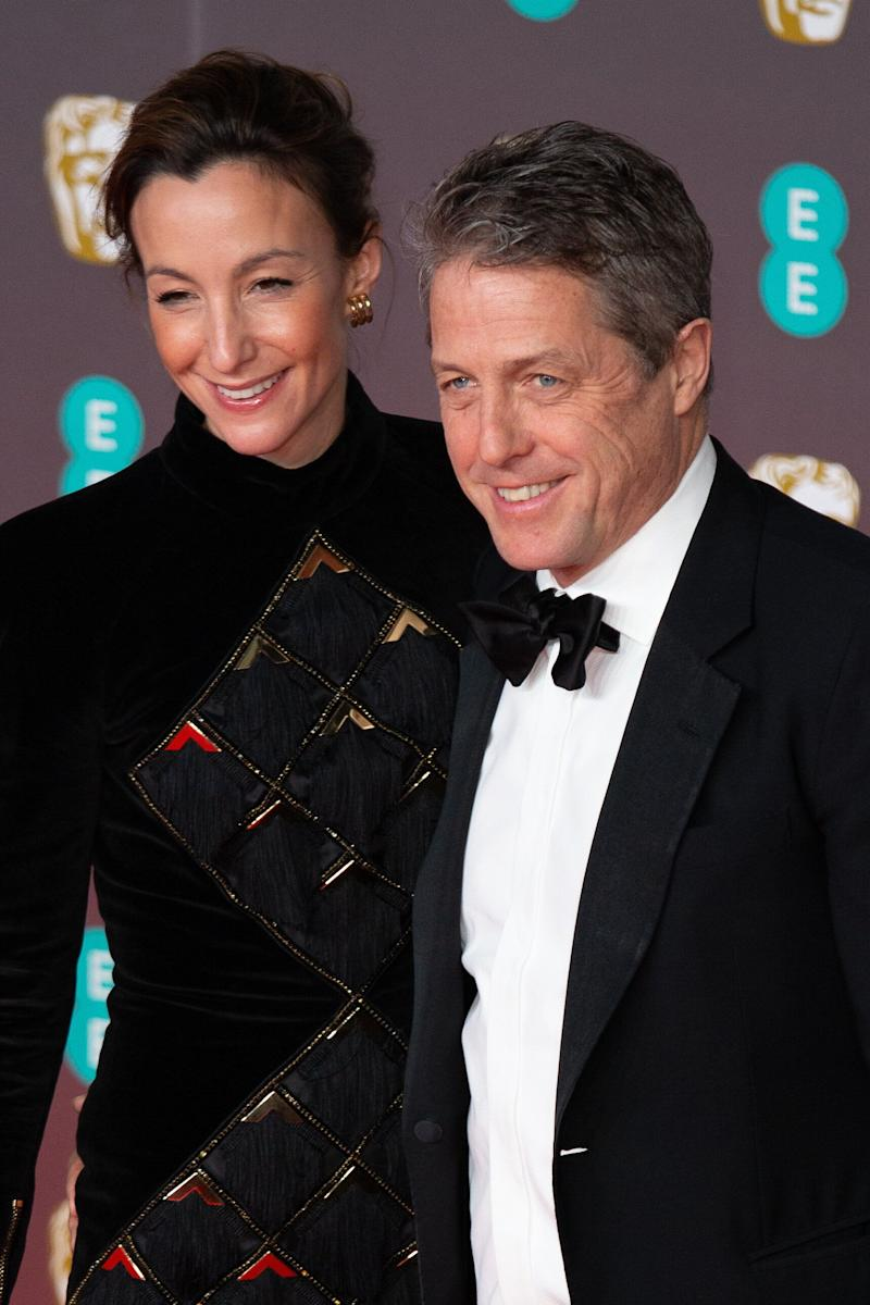 Anna Eberstein and Hugh Grant married in 2018. (Photo: NurPhoto via Getty Images)