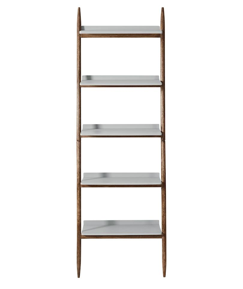 "<p><a class=""body-btn-link"" href=""https://www.swooneditions.com/southwark-contemporary-shelving-unit-light-grey-mango-wood"" target=""_blank"">BUY NOW, £199</a><br><br>Storage and style mix perfectly with this sophisticated Scandi-inspired shelving unit offering a cool, simple aesthetic.<br></p>"