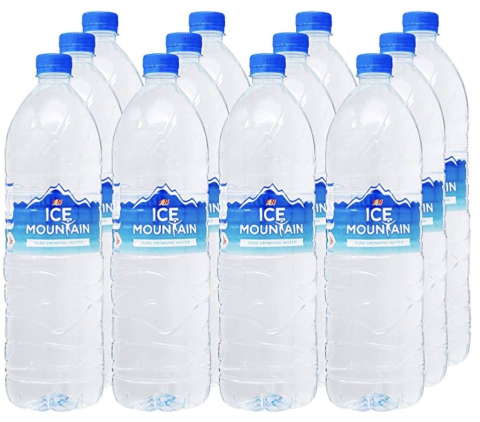 Ice Mountain Pure Drinking Water, 1.5L. (PHOTO: Amazon)