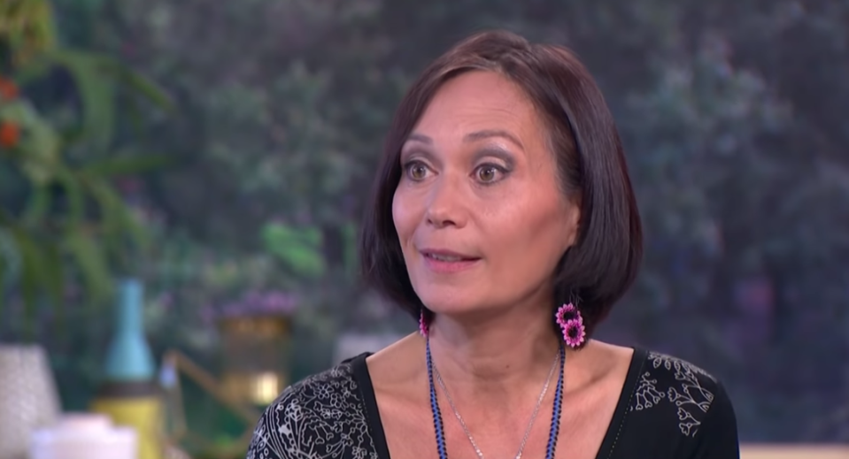 Leah Bracknell has passed away aged 55. (ITV)