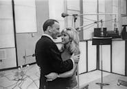 "<p>Even though Frank Sinatra's daughter earned every bit of her star power on her own — after all, her 1965 single ""These Boots Are Made for Walking"" was a smash hit — in 1967, she joined her father in the studio to release ""Somethin' Stupid.""</p>"
