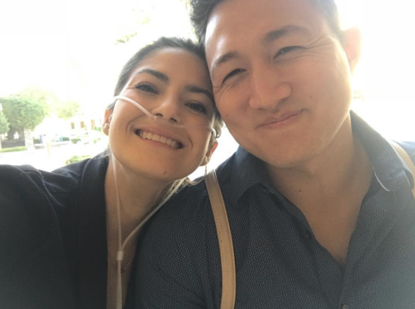 Caleigh met Brian a year ago, with the couple quickly falling in love. Photo: Instagram