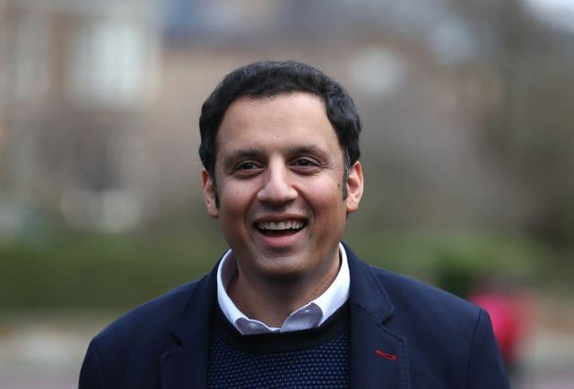 Anas Sarwar after winning the Scottish Labour leadership contest